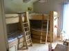 Sovrum med våningssängar