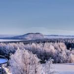 Vinterskrudat Hoverberg.